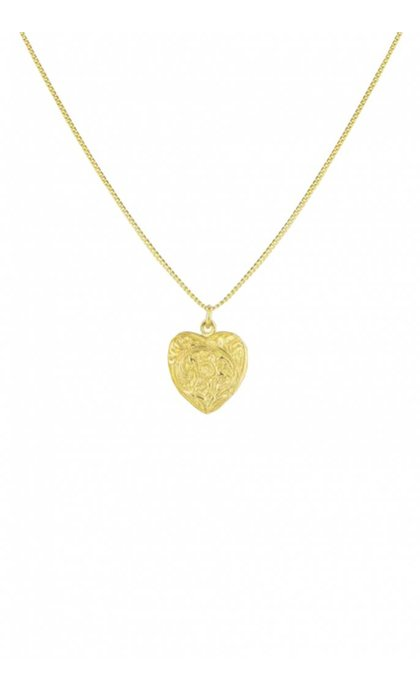 Wildthings Collectables Heart Locket Necklace Goldplated