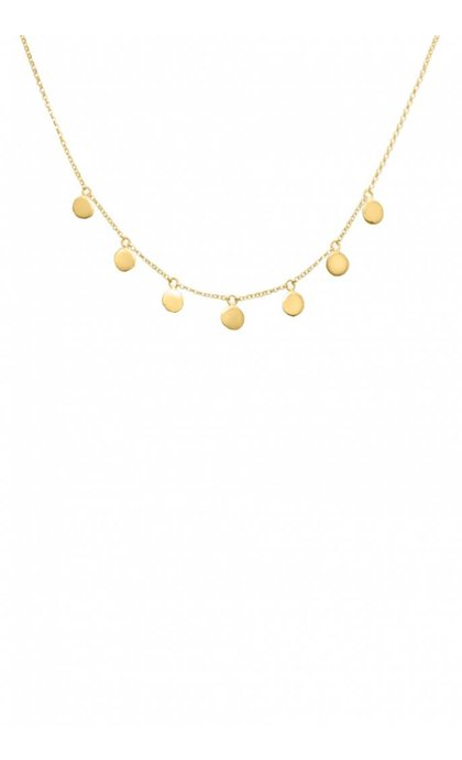 Wildthings Collectables Coin Necklace Goldplated