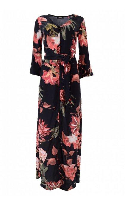 Mos Mosh Tulum Scala Dress Rose Print