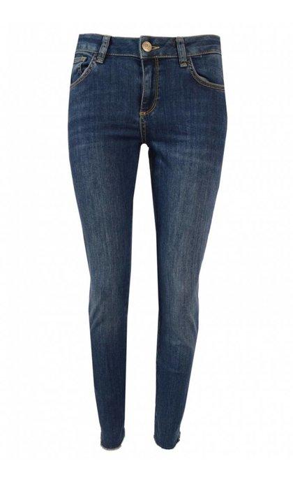 Mos Mosh Victoria Favourite 7/8 Jeans Blue Denim