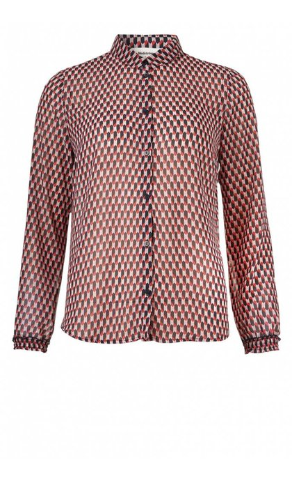 Modstrom James Print Shirt Harlem Square
