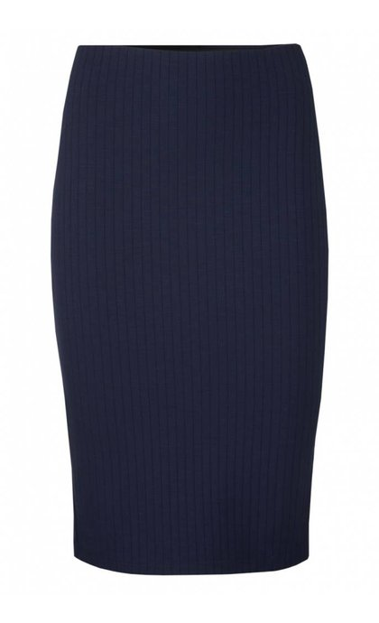 Modstrom Jilly Skirt Navy Sky