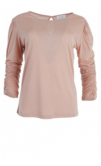 Alchemist Lyocell Mix Puff Sleeve Lily Pink