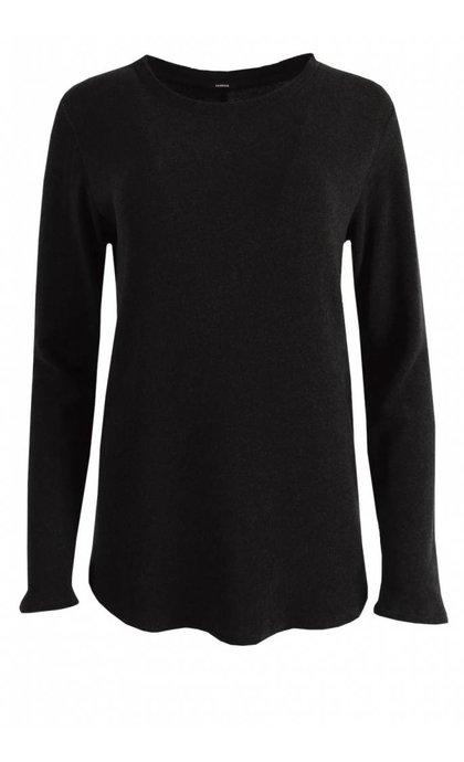 Denham Icicle Sweater CFJ Black Marl.