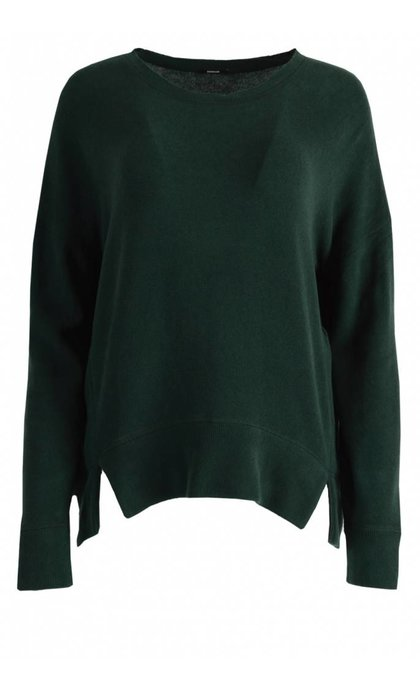 Denham Captain Sweater CFJ Deep Seaweed
