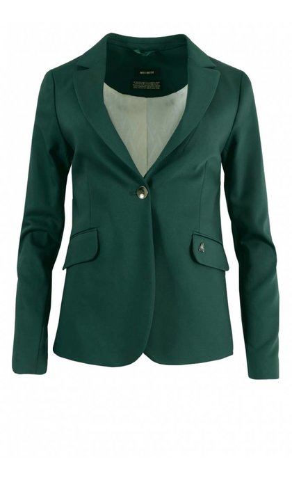 Mos Mosh Blake Night Blazer Jade Green