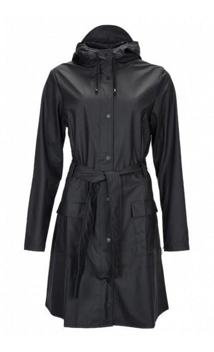 Rain Curve Jacket Black