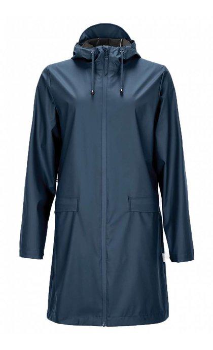 Rain W Coat Blue