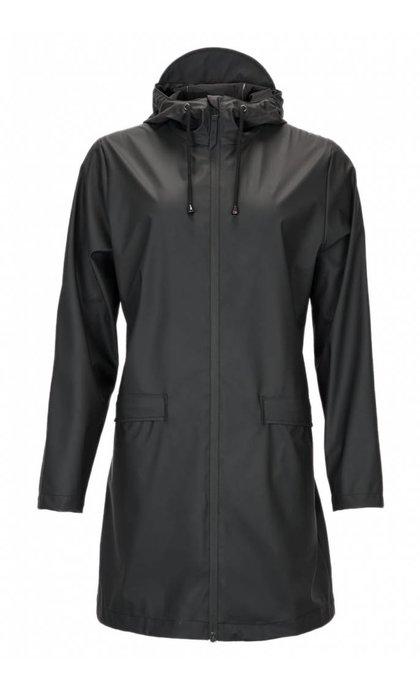 Rain W Coat Black