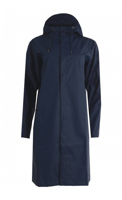 Rains Coat Bleu