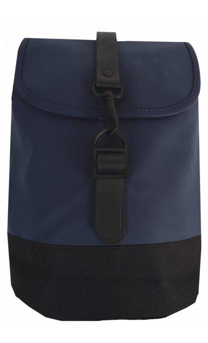 Rain Drawstring Backpack Blue