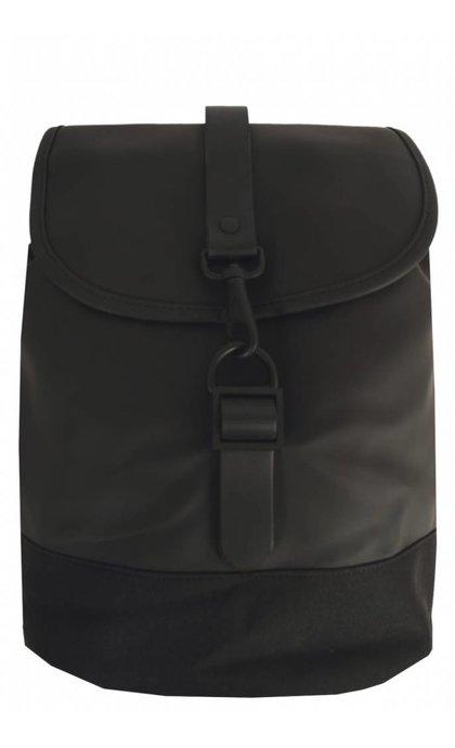 Rain Drawstring Backpack Black