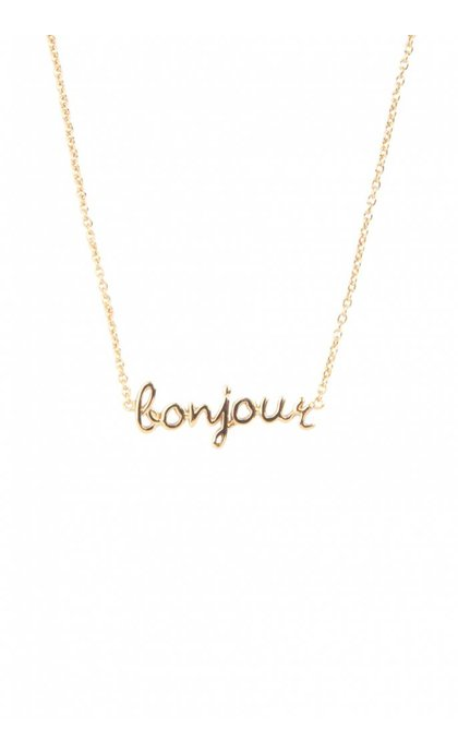 All the Luck in the World Urban necklace Bonjour Goldplated