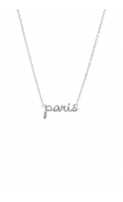 All the Luck in the World Urban Necklace City Paris