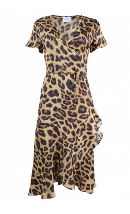 Neo Noir Magga Leo Dress Leopard