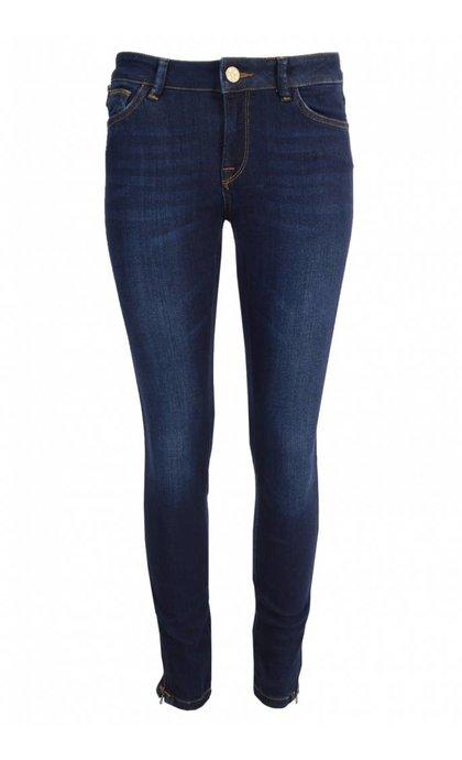 Mos Mosh Athena Super Skinny Jeans Dk. Blue
