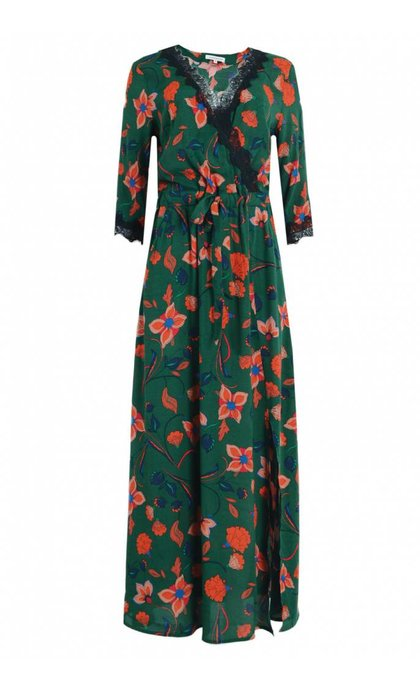 La Petite Francaise Raleuse Dress Grosse Fleur