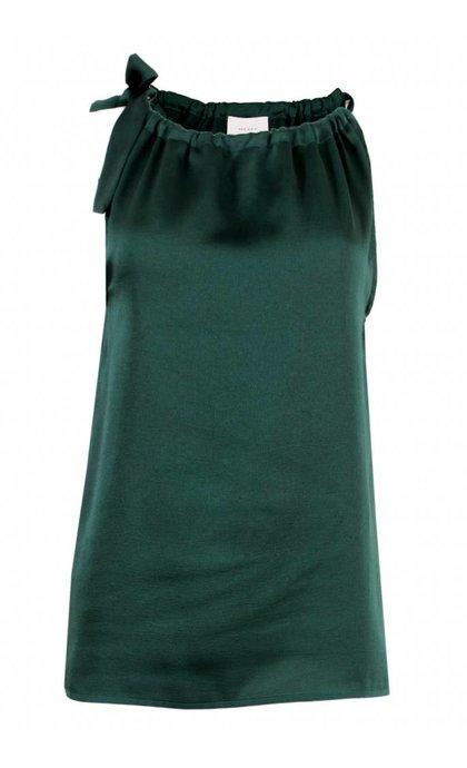 Neo Noir Linea Sloid Top Dark Green