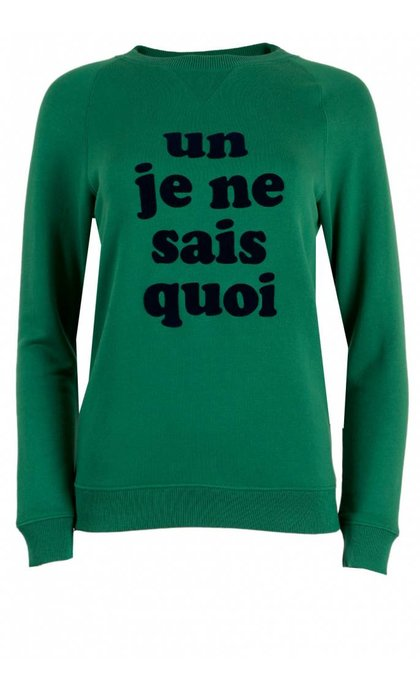 La Petite Francaise Snob Sweat Vert