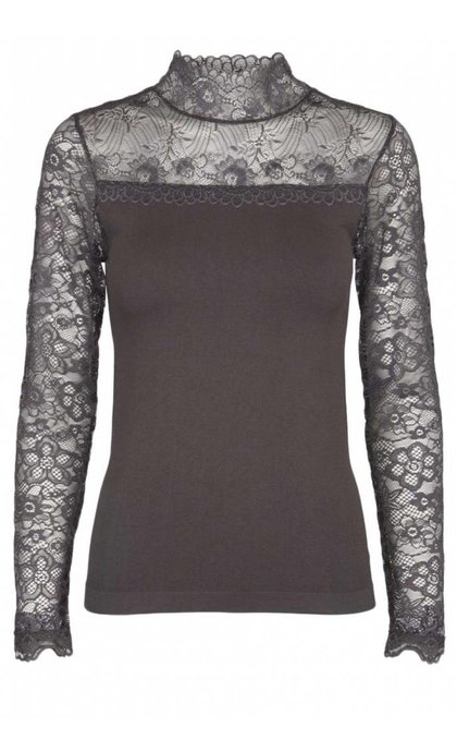 Minus Vanessa Blouse Dark Grey