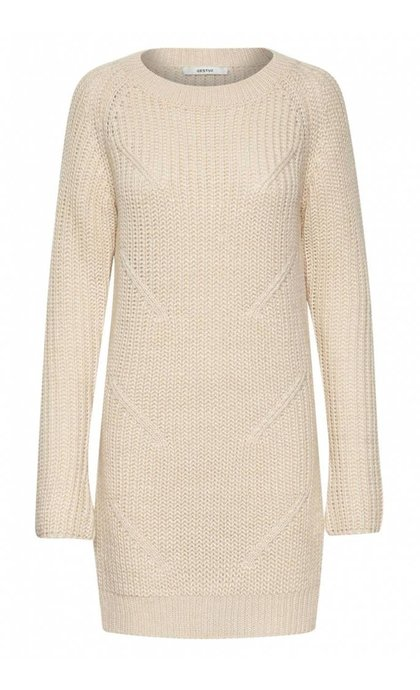 Gestuz Juliett Long Pullover Off White