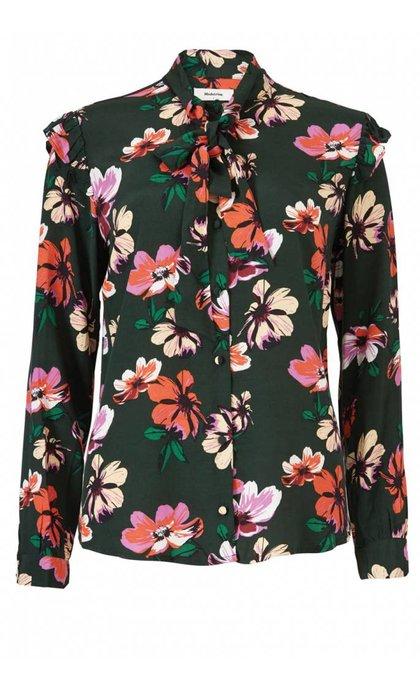 Modstrom Julie Print Shirt Wild Flower
