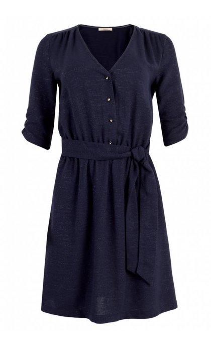 Sessun Laureen Dress Shiny Indigo