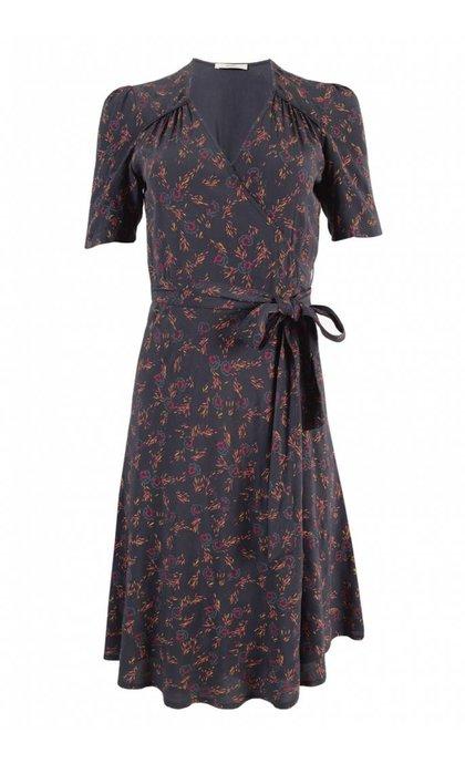 Sessun Chicama Dress Carbone Bloem