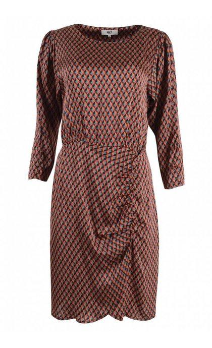 MKT Studio Rakiala Retro Dress Mauvaise référence Caramel