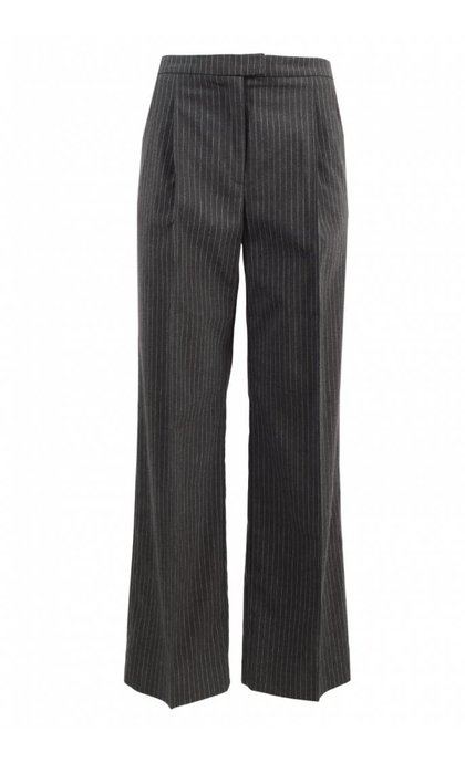 Storm & Marie Margot Pants Grey Melange Pinstripe