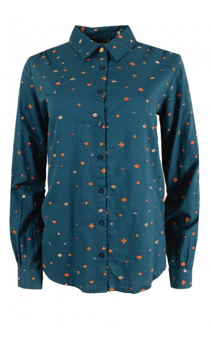 MKT Studio Clem Shirt Petrole