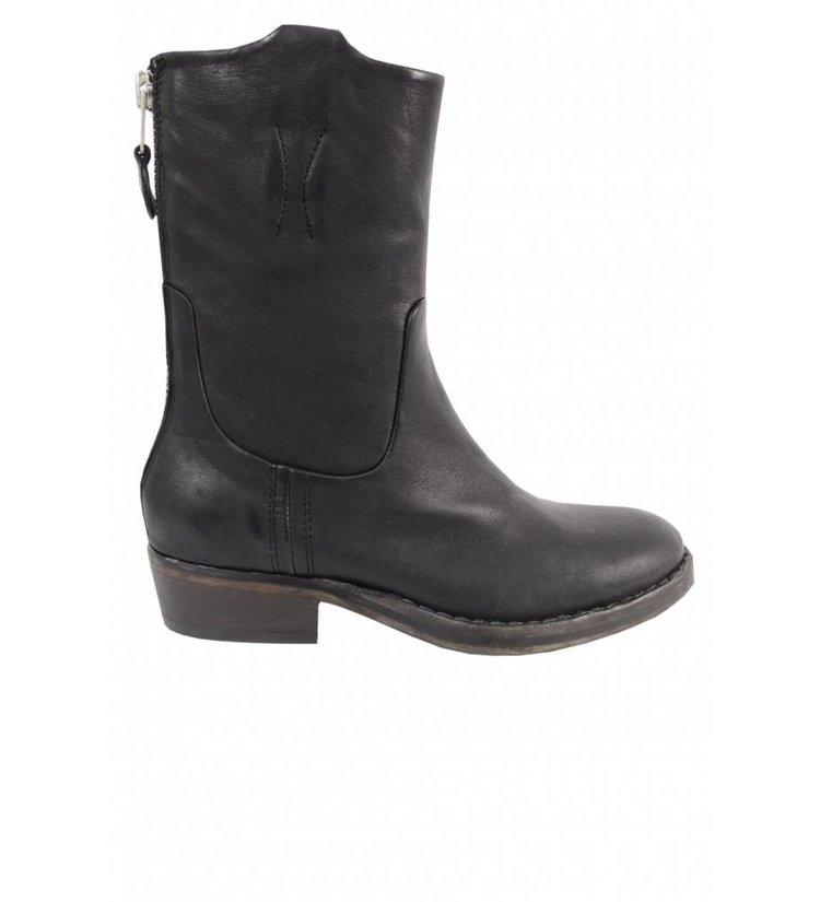 reputable site eb0c2 9e449 Catarina Martins Nomad Leather Mid Boot Black - Fabriq