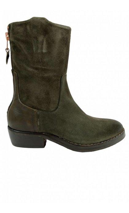 Catarina Martins Nomad Leather Mid Boot Mimetic+Univorm