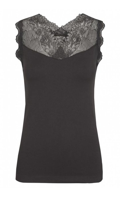 Minus Vanessa Top Dark Grey