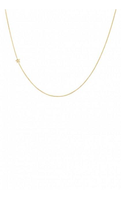 Anna + Nina Stellar Necklace Long Goldplated