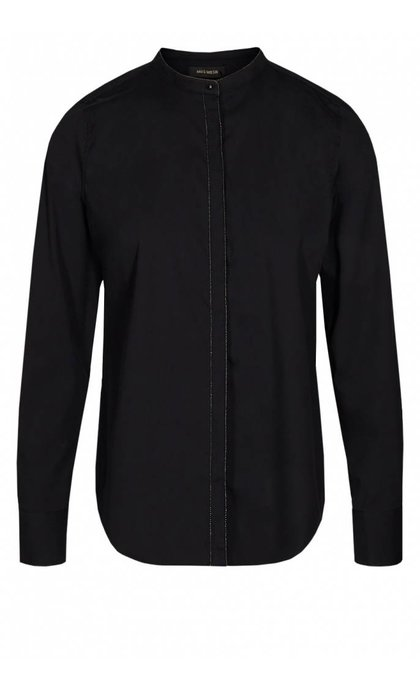 Mos Mosh Mari Shirt LS Black