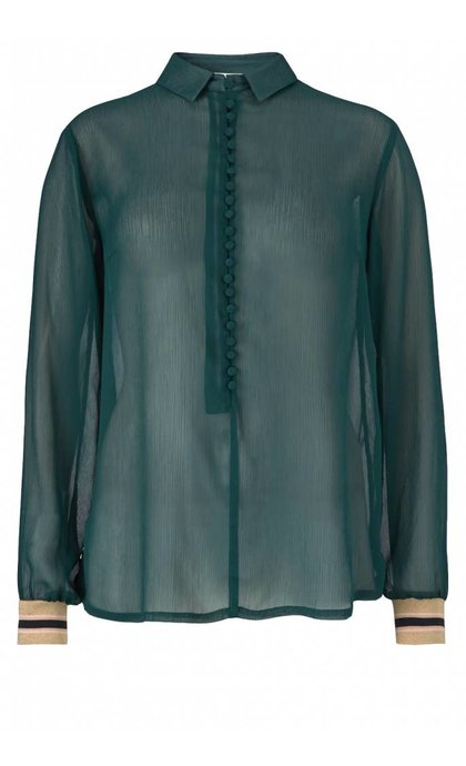 Modstrom Jussi Shirt Bottle Green