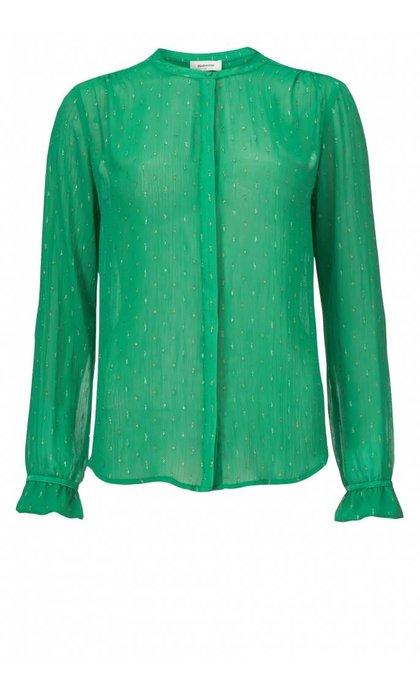 Modstrom Kassedy Shirt Milky Green