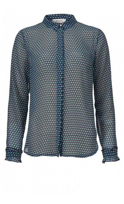 Modstrom Kirsten print shirt Geometric
