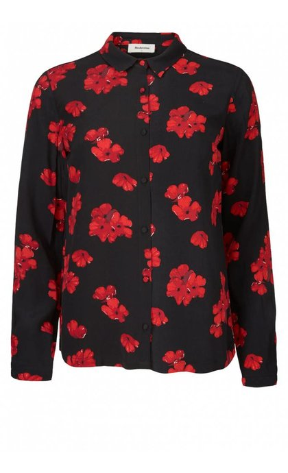 Modstrom Koko Print Shirt Bloom