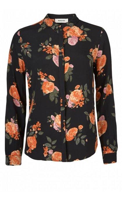Modstrom Kendall Print Shirt Rose Garden