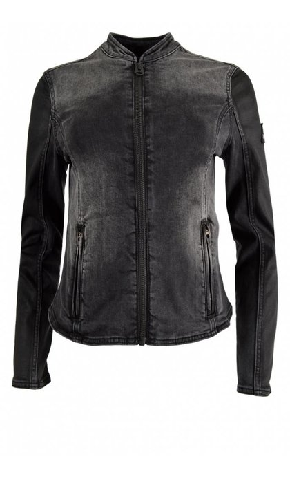 Denham Biker Denim TB Black