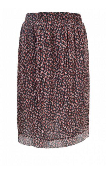 Storm & Marie Heart-Skirt All Over Print Black