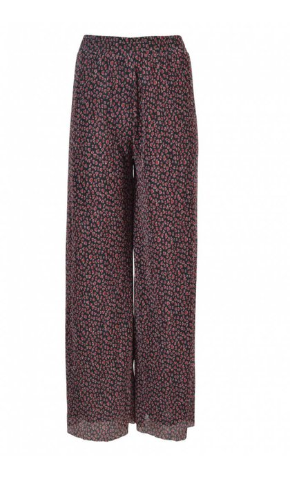 Storm & Marie Heart-Pant All Over Print Black