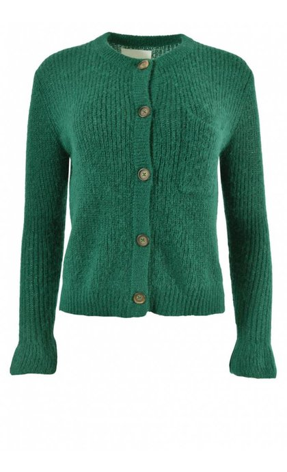 Leon and Harper Muchachita Cardigan Green