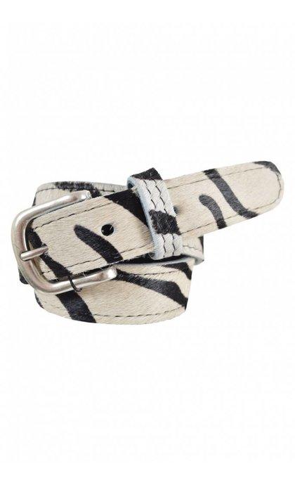 Elvy Belt Skin Zebra