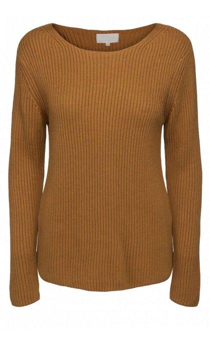 Minus Clove Knit Pullover Inka Gold