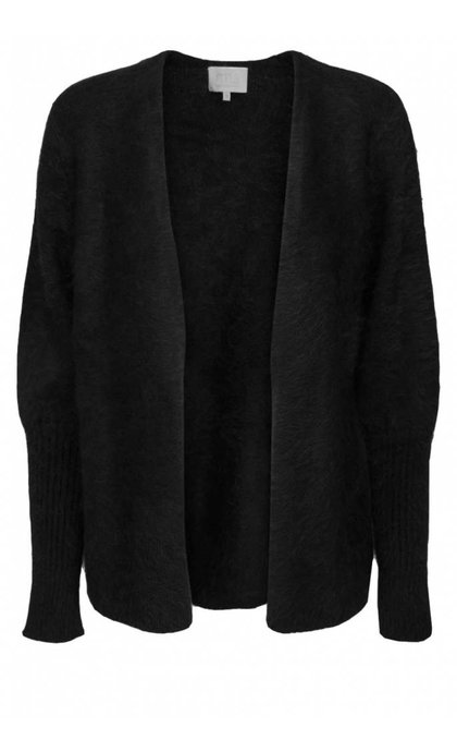 Minus Eileen Short Cardigan Black