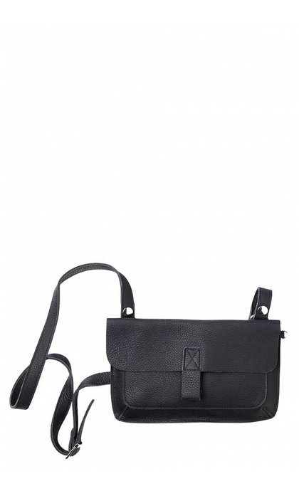Keecie Monkey Tree Clutch With Strap Black