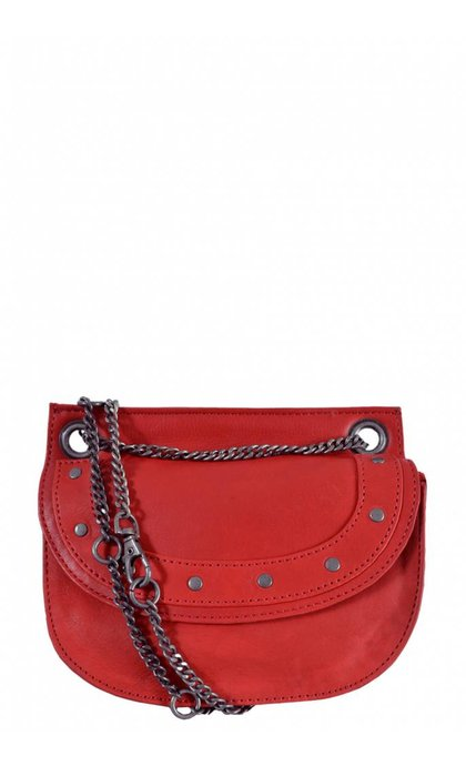 Elvy Emilie Chain Bag Corallo